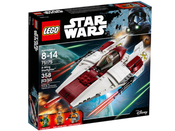 LEGO Set-A-wing Starfighter (2017)-Star Wars-75175-1-Creative Brick Builders