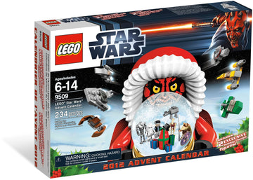 LEGO Set-Advent Calendar - Star Wars (2012)-Holiday / Christmas / Advent / Star Wars-9509-1-Creative Brick Builders