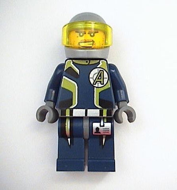 LEGO Minifigure-Agent Charge - Helmet-Agents-AGT006-Creative Brick Builders