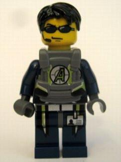 LEGO Minifigure-Agent Chase - Body Armor-Agents-AGT025-Creative Brick Builders