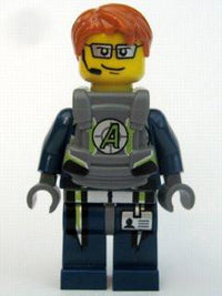 LEGO Minifigure-Agent Fuse - Body Armor-Agents-AGT022-Creative Brick Builders
