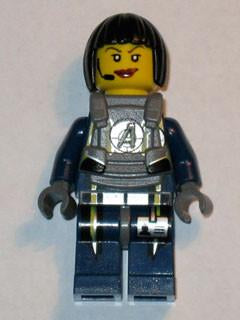 LEGO Minifigure-Agent Swift - Body Armor-Agents-AGT029-Creative Brick Builders