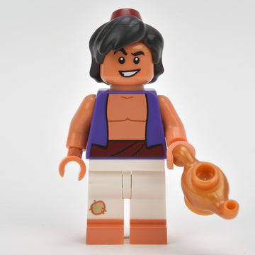 LEGO Minifigure-Aladdin-Collectible Minifigures / Disney-COLDIS-4-Creative Brick Builders