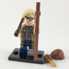 LEGO Minifigure-Alastor Mad-Eye Moody-Collectible Minifigures / Harry Potter-colhp-14-Creative Brick Builders
