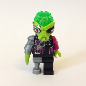 LEGO Minifigure-Alien Android-Space / Alien Conquest-AC012-Creative Brick Builders