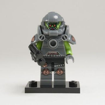 LEGO Minifigure-Alien Avenger-Collectible Minifigures / Series 9-COL09-11-Creative Brick Builders