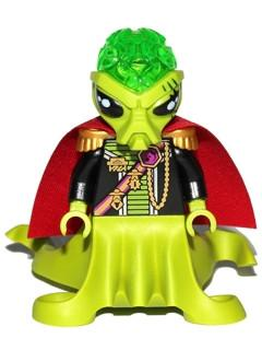 LEGO Minifigure-Alien Commander-Space / Alien Conquest-AC011-Creative Brick Builders