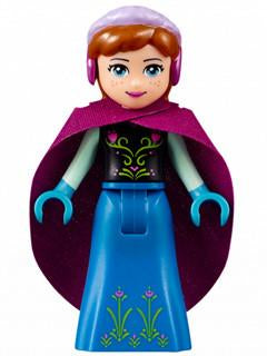 LEGO Minifigure-Anna-Disney Princess / Frozen-DP016-Creative Brick Builders