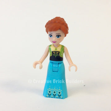 LEGO Minifigure-Anna-Disney Princess / Frozen-DP019-Creative Brick Builders
