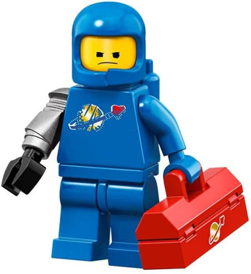 LEGO Minifigure-Apocalypse Benny-Collectible Minifigures / The LEGO Movie 2-coltlm2-3-Creative Brick Builders