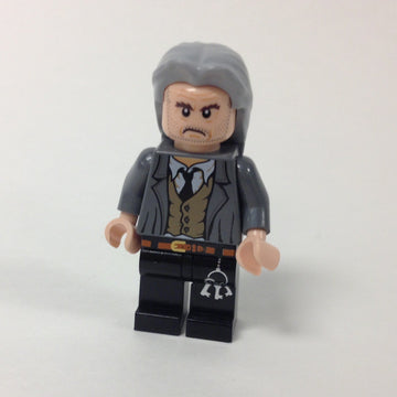 LEGO Minifigure-Argus Filch-Harry Potter-HP097-Creative Brick Builders