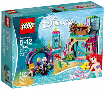 LEGO Set-Ariel and the Magical Spell-Disney Princess-41145-1-Creative Brick Builders