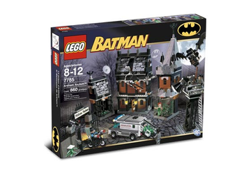 LEGO Set-Arkham Asylum-Super Heroes / Batman I-7785-1-Creative Brick Builders