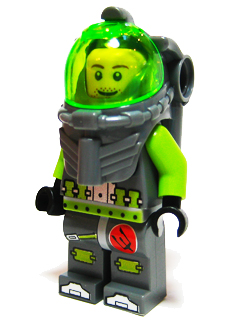 LEGO Minifigure-Atlantis Diver 4 - Lance Spears-Atlantis-atl006a-Creative Brick Builders