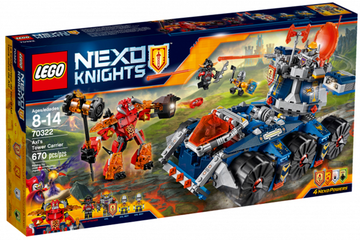 LEGO Set-Axl's Tower Carrier-Nexo Knights-70322-1-Creative Brick Builders