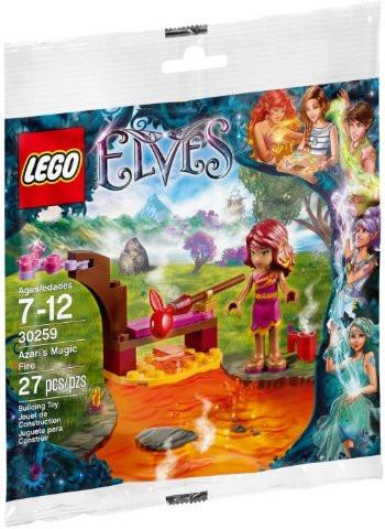 LEGO Set-Azari's Magic Fire (Polybag)-Elves-30259-1-Creative Brick Builders