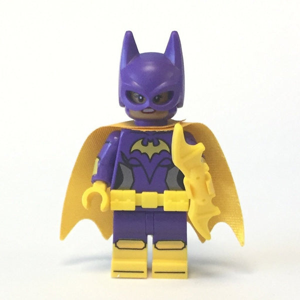 LEGO The Batman Movie Minifig // Mini Figure Yellow Cape Batgirl