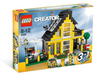 LEGO Set-Beach House-Creator / Model / Building-4996-1-Creative Brick Builders