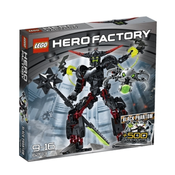 LEGO Set-Black Phantom-Hero Factory / Villains-6203-1-Creative Brick Builders