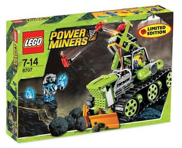 LEGO Set-Boulder Blaster-Power Miners-8707-1-Creative Brick Builders