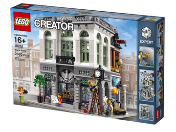 LEGO Set-Brick Bank-Modular Buildings-10251-1-Creative Brick Builders