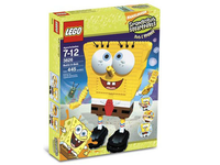 LEGO Set-Build-A-Bob-SpongeBob SquarePants-3826-1-Creative Brick Builders
