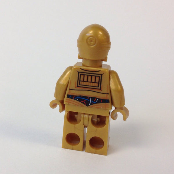 LEGO Minifigure-C-3PO - Colorful Wires Pattern-Star Wars / Star Wars Episode 4/5/6-SW365-Creative Brick Builders