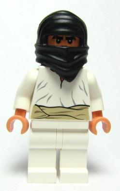 LEGO Minifigure-Cairo Thug (7195)-Indiana Jones / Raiders of the Lost Ark-IAJ038-Creative Brick Builders