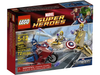 LEGO Set-Captain America's Avenging Cycle-Super Heroes / Avengers-6865-1-Creative Brick Builders