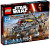 LEGO Set-Captain Rex's AT-TE-Star Wars / Star Wars Rebels-75157-1-Creative Brick Builders