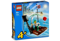 LEGO Set-Catapult Raft-4 Juniors / Pirates-7070-1-Creative Brick Builders