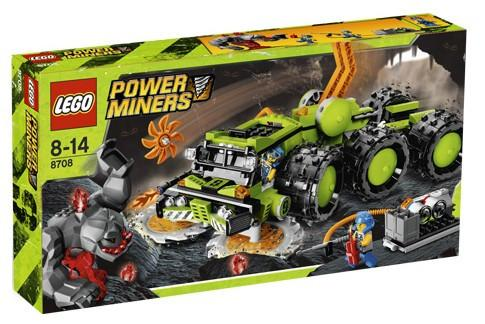 LEGO Set-Cave Crusher-Power Miners-8708-1-Creative Brick Builders