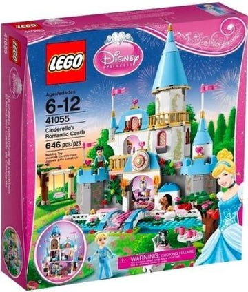 LEGO Set-Cinderella's Romantic Castle-Disney Princess-41055-1-Creative Brick Builders