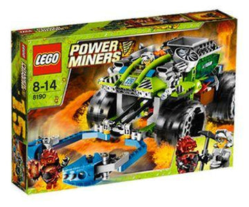 LEGO Set-Claw Catcher-Power Miners-8190-1-Creative Brick Builders