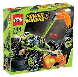 LEGO Set-Claw Digger-Power Miners-8959-1-Creative Brick Builders