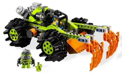 LEGO Set-Claw Digger-Power Miners-8959-4-Creative Brick Builders