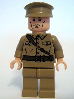 LEGO Minifigure-Colonel Dovchenko-Indiana Jones / Kingdom of the Crystal Skull-IAJ018-Creative Brick Builders