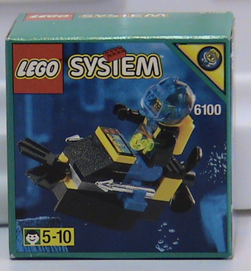 LEGO Set-Crab-Aquazone / Stingrays-6140-1-Creative Brick Builders