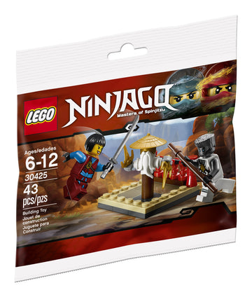 LEGO Set-CRU Masters' Training Grounds (Polybag)-Ninjago-30425-1-Creative Brick Builders