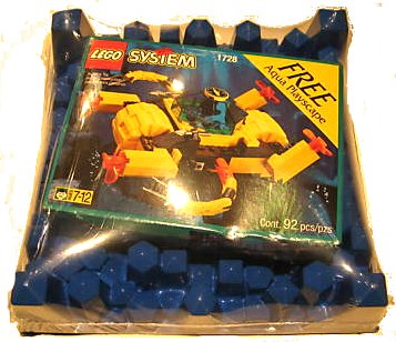 LEGO Set-Crystal Crawler-Aquazone / Aquanauts-6145-1-Creative Brick Builders
