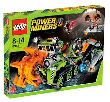 LEGO Set-Crystal Sweeper-Power Miners-8961-1-Creative Brick Builders