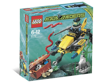 LEGO Set-Deep Sea Treasure Hunter-Aquazone / Aquaraiders II-7770-4-Creative Brick Builders