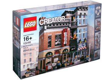 LEGO Set-Detective's Office-Modular Buildings-10246-1-Creative Brick Builders