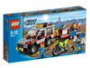 LEGO Set-Dirt Bike Transporter (4433-1)-Town / City / Off-Road-4433-1-Creative Brick Builders