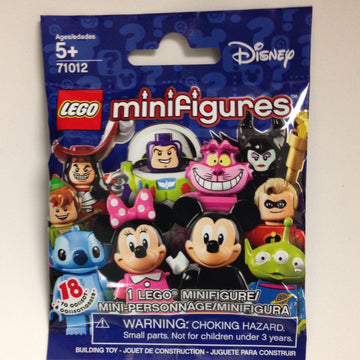 LEGO Minifigure-Series Disney-Collectible Series Polybag-71012-1-Creative Brick Builders