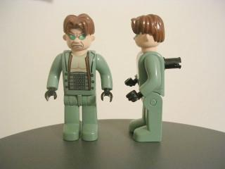 LEGO Minifigure-Dr. Octopus / Doc Ock (Junior-fig)-4 Juniors / Spider-Man-4J005A-Creative Brick Builders