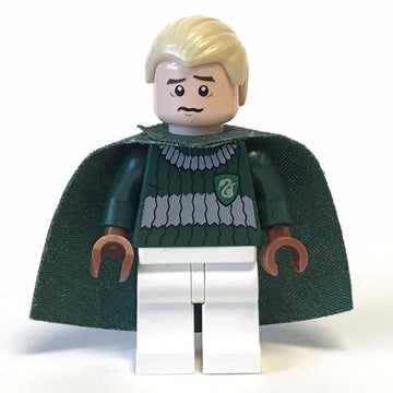 Draco Malfoy, Dark Green and White Quidditch Uniform