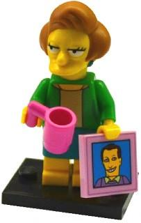 LEGO Minifigure-Edna Krabappel-Collectible Minifigures / The Simpsons Series 2-COLSIM2-14-Creative Brick Builders