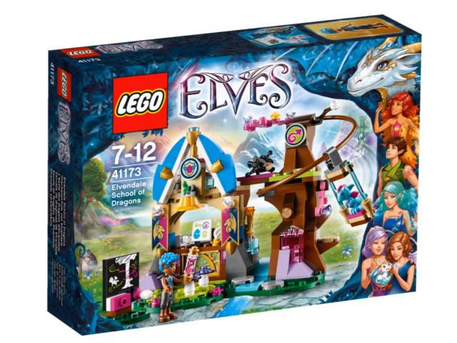 LEGO Set-Elvendale School of Dragons-Elves-41173-1-Creative Brick Builders