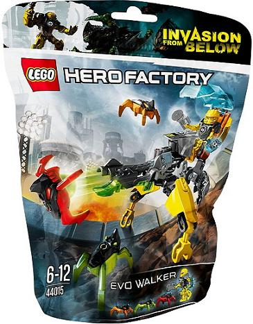 LEGO Set-EVO Walker-Hero Factory / Heroes-44015-1-Creative Brick Builders